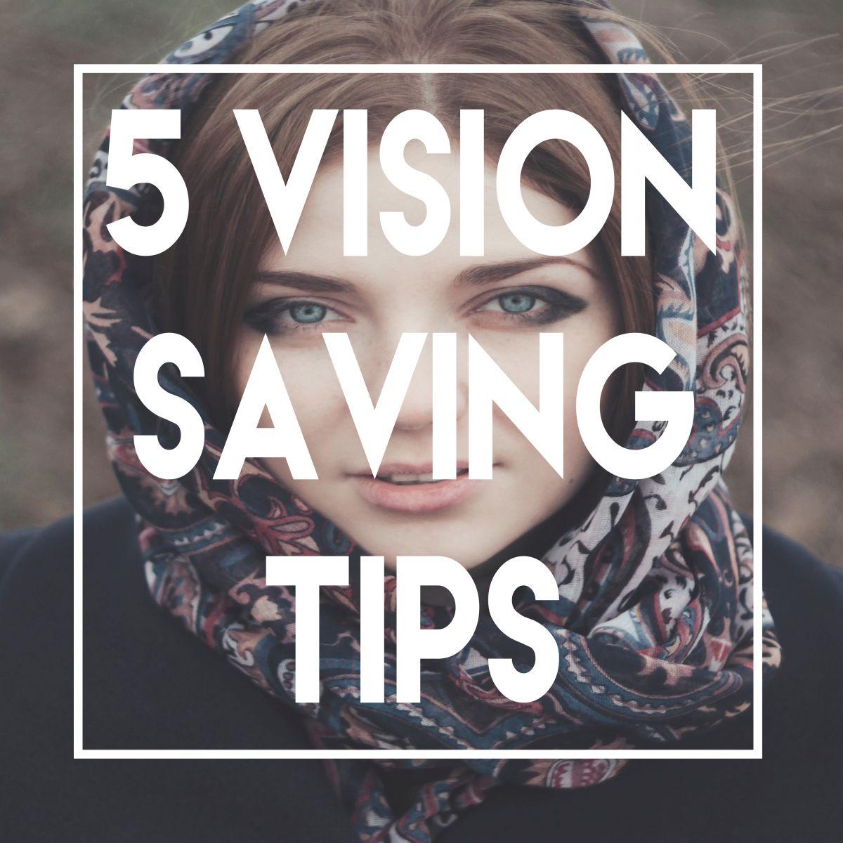 Vision saving tips image