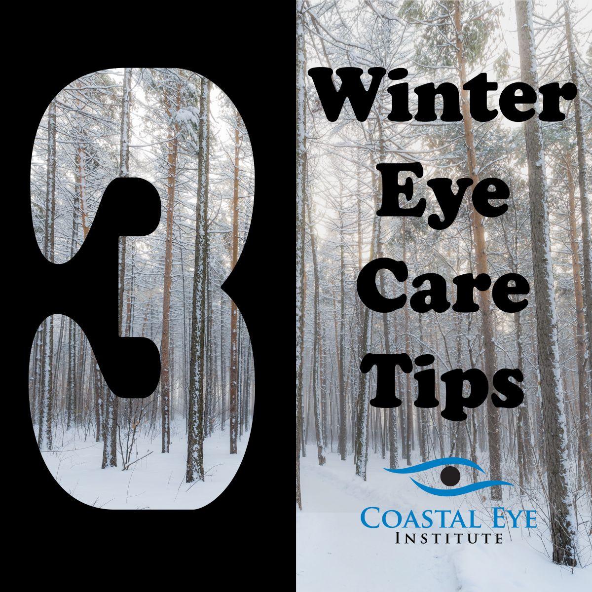 Three winter eye care tips image