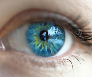 Blue eye image